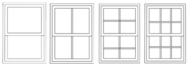Flat Head Sash window Designs