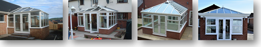 UPVC French Doors for a Conservatory