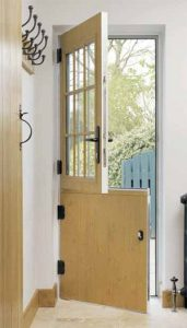 Composite Light Oak Stable Door