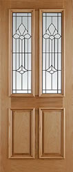 front doors in oak