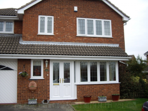 House with uPVC Casement Windows