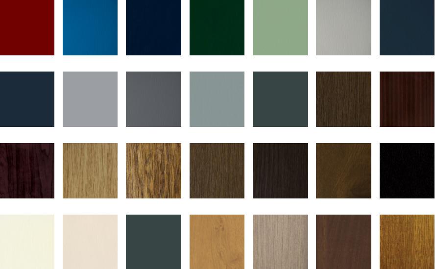 Aluminium Door Colours