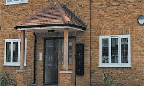 3 Options for UPVC Porches